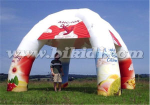 Digital Printing Inflatable Spider Tent with 4 Legs K5154 pictures & photos