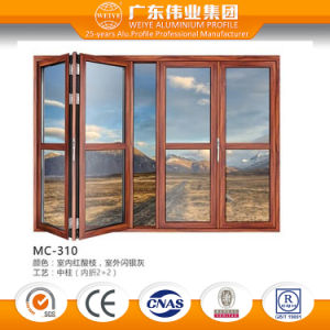 Best Selling Good Feedback Quality Guaranteed Aluminum/Aluminium/Aluminio Folding Door pictures & photos