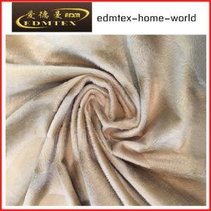 Animal Pattern Printed Velvet Fabric for Upholstery (EDM5083)
