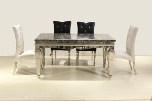 2017 Popular Furniture Dining Table in Good Taste pictures & photos