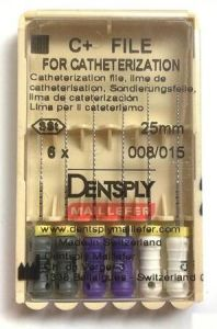 Dentsply Maillefer Catheterization C+ Files Root Canal Treatment Files pictures & photos