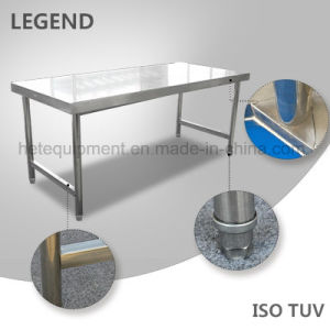 Stainless Steel Workbench Table with Factory Direct Price pictures & photos