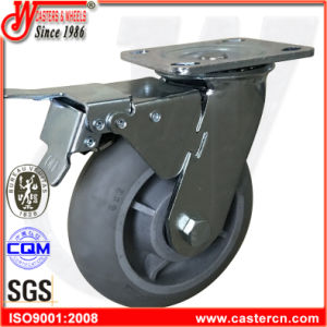 4 Inch to 6 Inch TPE TPR Swivel Casters with Roller Bearing pictures & photos