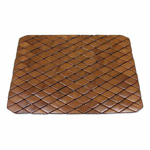Block Bamboo Placemat for Tabletop & Flooring pictures & photos