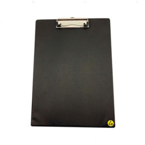 Antistatic Plastic Clip Board Balck Clip Board pictures & photos