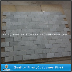 Natural Stone Marble Mosaic Flower Pattern / Mosaic Pattern Flooring Tiles pictures & photos