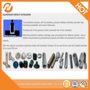 1070 O Aluminum Collapsible Tubes Aerosol Can Bottle Aluminum Slug pictures & photos