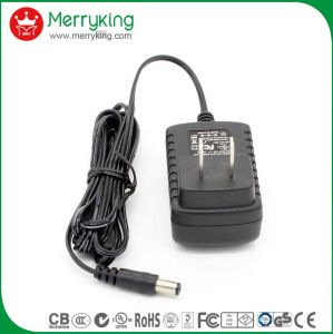 UL cUL FCC DOE VI Approved Type a Plug AC DC Power Adapters 18V 0.5A Wall Mount Charger for Us pictures & photos