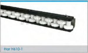 Hairise Steel Low Conveyor Noise Roller Side Guide Rails pictures & photos