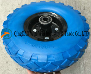 PU Foam Wheel for Trolley (10*4.10/3.50-4) pictures & photos