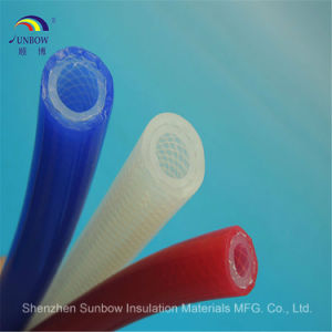 Silicone Braided Reinforced Tubing Rubber Braided Reinforced Tube pictures & photos