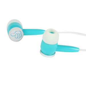 Logo Print Custom Promotion Fashion Stereo Wired Earphone pictures & photos