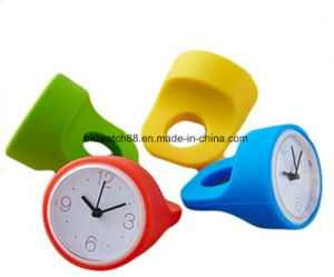 Customized Personal Silicone M Ini Desk Table Alarm Clock pictures & photos