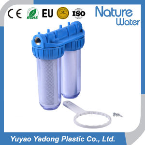 Double Housing Clear Water Filter for Home Use pictures & photos