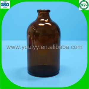 100ml Amber Moulded Vial pictures & photos