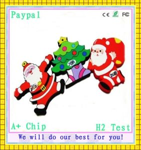 Cute Christmas Gifts USB Flash Drive (GC-S025) pictures & photos