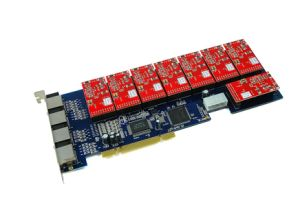 Asterisk PCI Cards--8 Ports Analog PCI Cards
