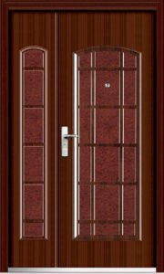 1/2-Leaf Steel Door (YF-SM02) pictures & photos
