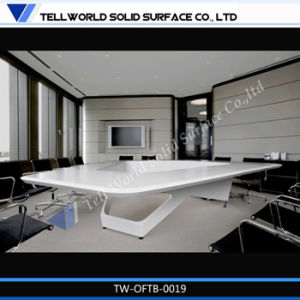 New Design Acrylic Solid Surface Top for Meeting Table for Boardroom pictures & photos