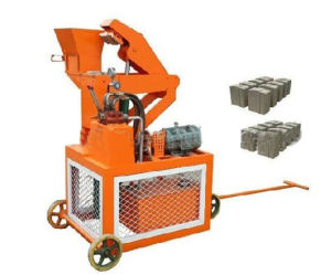 Hydraulic Interlocking Mud Brick Machine in Africa (SY1-20)
