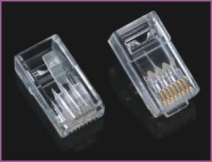 RJ45 Plug, 8p8c Plug, RJ45 Plug UTP for Cat5e Cable pictures & photos