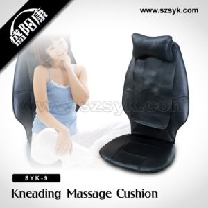 (SYK-9) Neck and Back Massage Cushion (CE, RoHS)