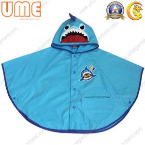 Kids PU Rain Poncho Ucp04