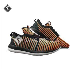 Hot Sailing Fly Knitting Sports Shoes, Running Shoes pictures & photos