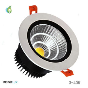 30W Aluminum Housing COB LED Recessed Downlight with 140mm Hole Size pictures & photos