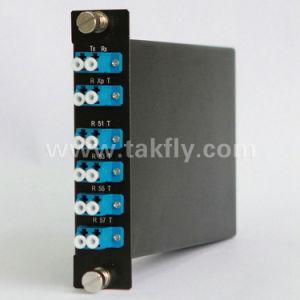 1310 Mux/Demux LC Adapter CATV FTTH Rack Mount Fiber Optic CWDM pictures & photos
