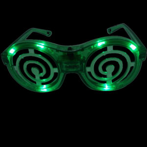 Snail Shape LED Flashing Glasses (QY-LS100S) pictures & photos
