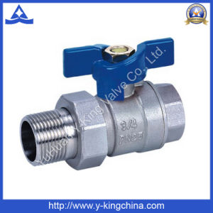 Female Brass Ball Valve with Union Joint (YD-1004) pictures & photos