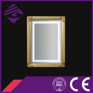 Jnh273-G China Supplier Large Bathroom Mirror Framed with LED Light