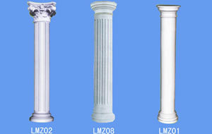 Exterior Fiberglass Decorative Roman Columns Corrosion Resistance pictures & photos