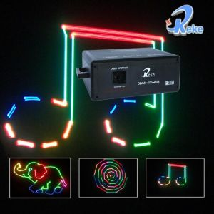 RGB Full Color Animation Laser Show System (OBAMA-500RGB)