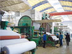 2880mm Toilet Paper Machines, 8-10 Tons Per Day Capacity, Tissue Paper Mill pictures & photos