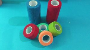Disposable Neo Color Cohesive Bandage pictures & photos