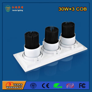 3*30W Aluminum LED Ceiling Grille Light for Commercial Lighting pictures & photos
