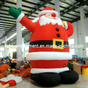 Inflatable Santa Claus for Christmas pictures & photos