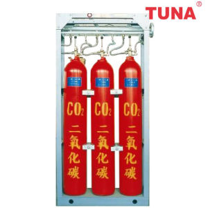 Marine High Pressure CO2 Fire Suppression System