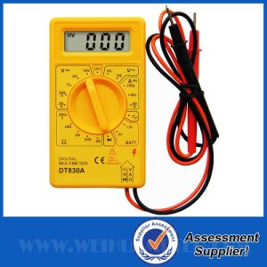 Digital Multimeter with Inserted Test Lead (DT830A)