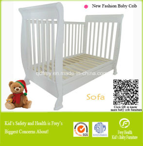 Solid Pine Wood Baby Furniture Baby Sofa Cot pictures & photos