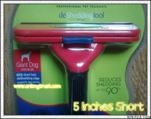 5 Inches Short Hair Pet Brush (LT-7304B)