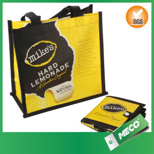 Recycled Non Woven Cheap Folded Shopping Bag (MECO354) pictures & photos