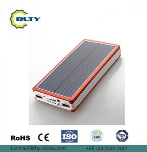 15000mAh portable Solar Power Bank for Mobilephone pictures & photos