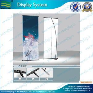 Economic L Type Banner Stand (M-NF22M01004) pictures & photos