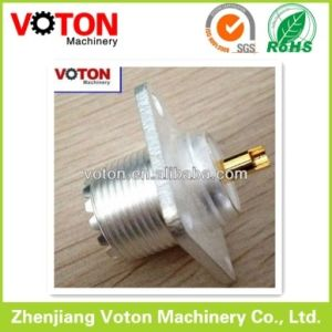 Silver Plated UHF Female Chassis Solder Connector