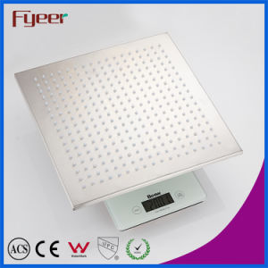 Fyeer 304 stainless Steel Chrome Plated LED Shower Head pictures & photos