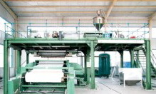2.4m Newest Design SSS Polypropylene Spunbond Nonwoven Machine pictures & photos