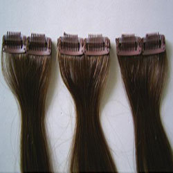 100% Humanf Hair Clip Hair Extension